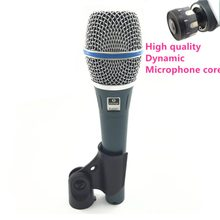 Professionele Cardioid Handheld Dynamische Microfoon Mike Voor BETA 87A 87C 87 EEN Spreken Karaoke Mixer Audio Studio Moving Coil Mic(China)