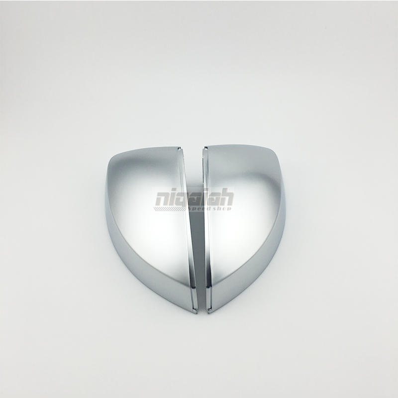 A3 ABS Matt Chrome car rear side mirror Covers shell for Audi A3 / S3 <font><b>8V</b></font> 2014 up Replacement image