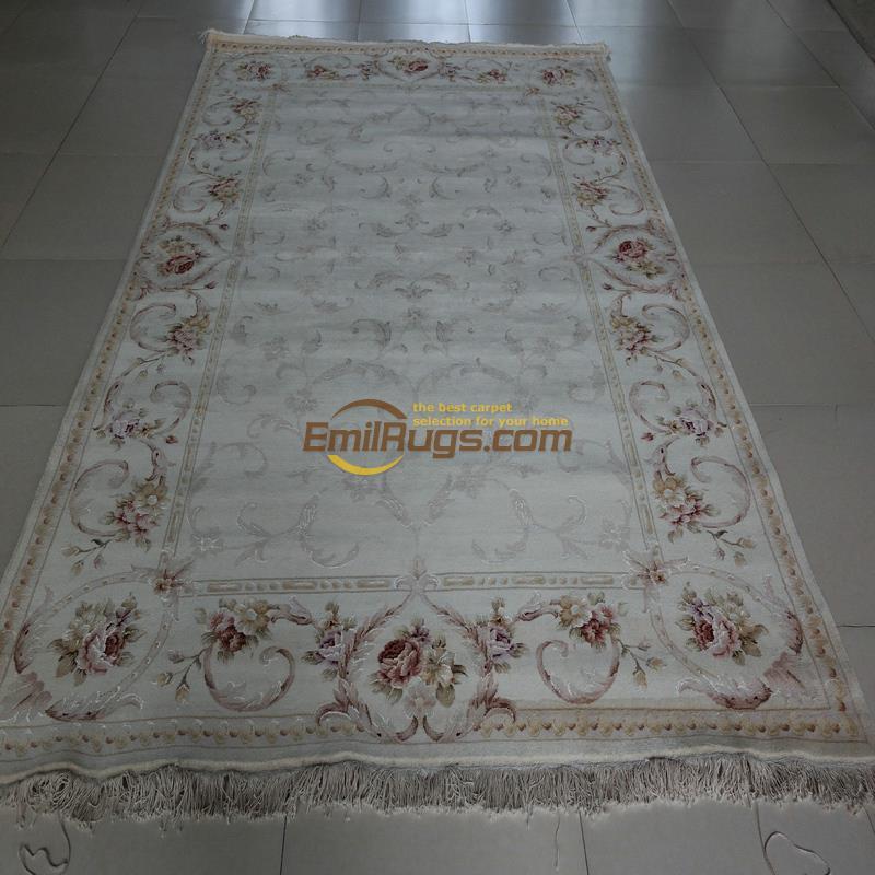 Laine ou soie persan grand Style Vintage pour tapis salon maison pour salon laine tapis tapis Antique tapis