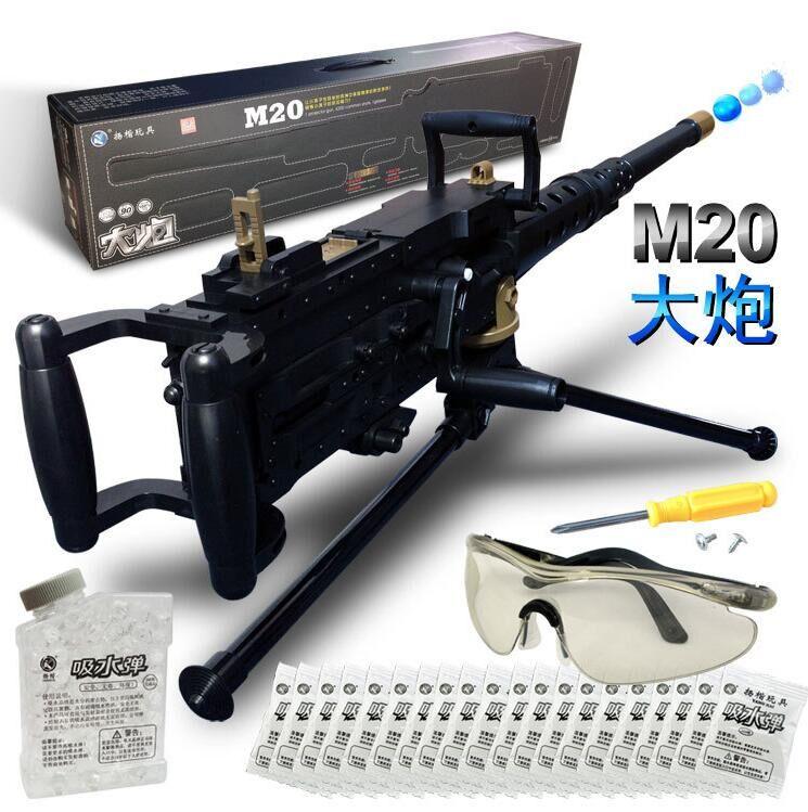 Offres spéciales! Haute qualité la nouvelle simulation mitraillette éclate de pistolet à balles d'eau modèle militaire enfants jouets pistolets