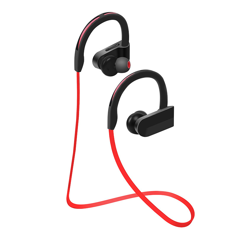 CCBCCR Sport Bluetooth Earphone Sweatproof Headset Ear hook Wireless Stereo Headphone with Build-in Mic Handsfree for Smartphone boas car driver bluetooth earphone wireless handsfree handphone base charger dock in ear hook headset with mic for iphone xiaomi