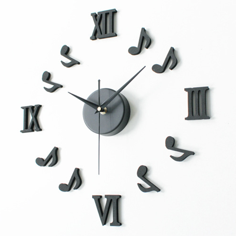 Large Black Wall Clock large kitchen wall clocks promotion-shop for promotional large