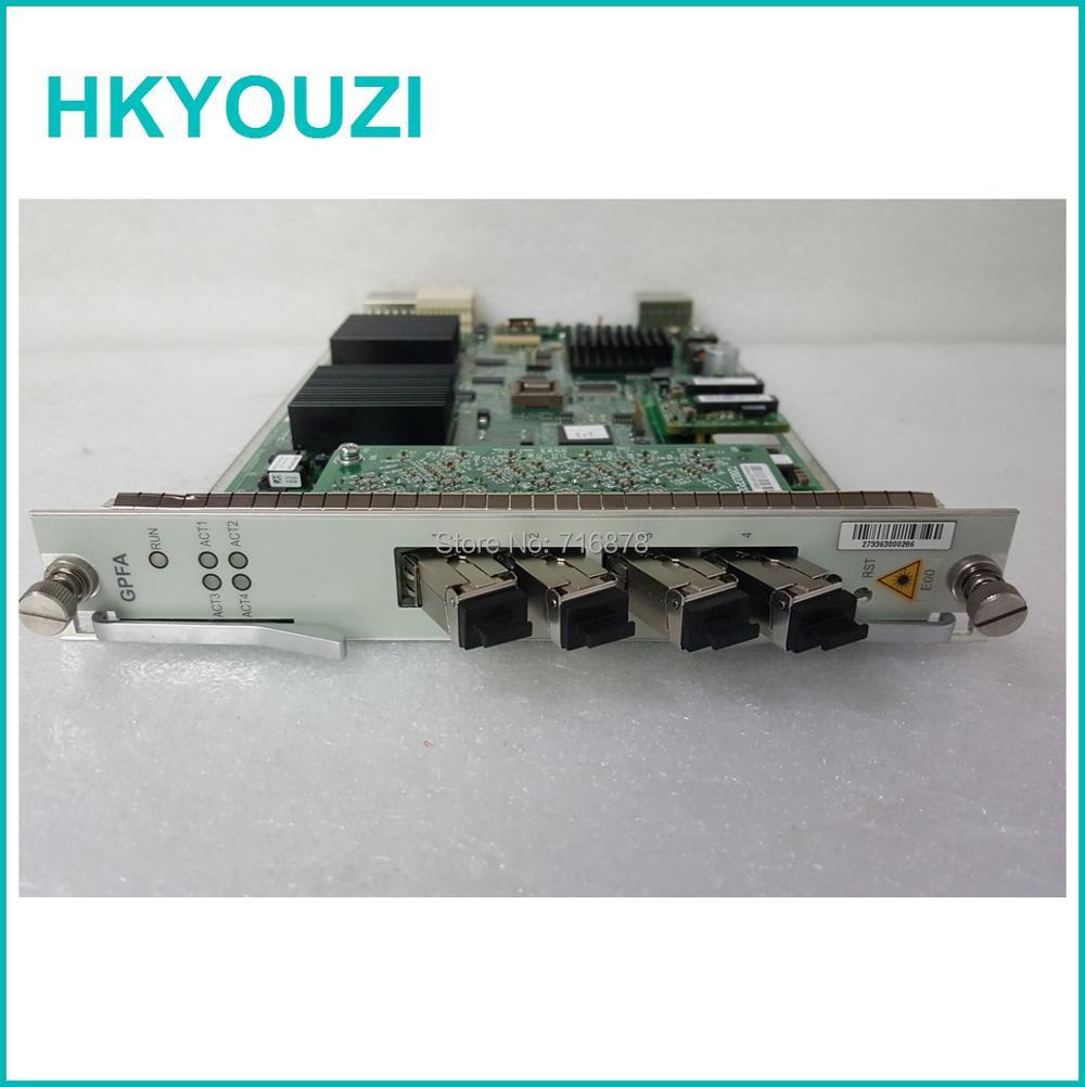 GPFA-Karte, GPFAE 4-Ports mit 4PCS-Modulen, GPON-Karte für C220 - Kommunikationsausrüstung