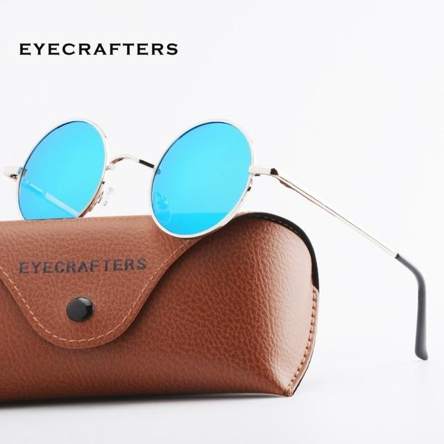 e302a37c4a New Brand Designer Classic Polarized Round Sunglasses Men Small Vintage  Retro John Lennon Glasses Women Driving Metal Eyewear