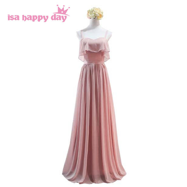 Women Long Elegant Ladies Sweetheart Blush Sleeveless Dress Material Bridesmaid Gown Dresses Woman For Wedding Party H4132