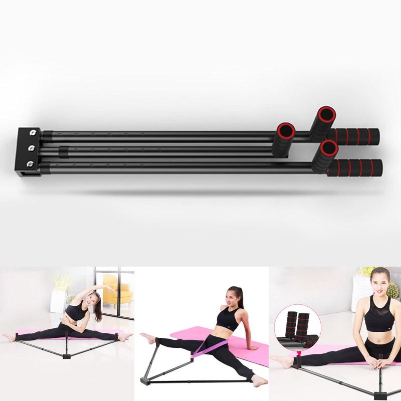 2019 New Iron Leg Stretcher 3 Bar Legs Extension Split Machine Flexibility Training Tool for Ballet Balance ALS88 leg extension split machine