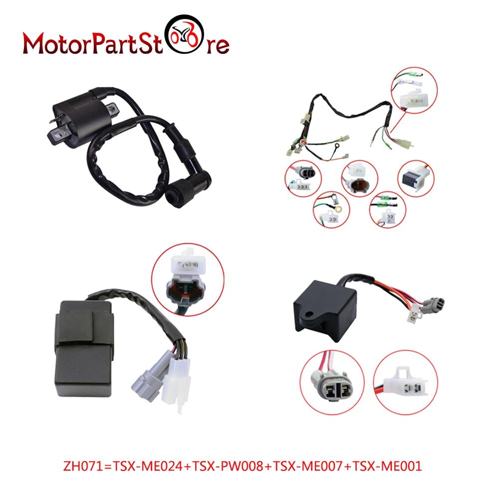 wireloom wire loom harness ignition cdi control unit coil fit yamaha pw50 py50 bike 20 [ 1000 x 1000 Pixel ]