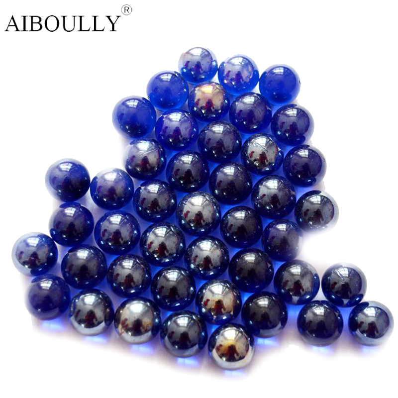 20 PCS Of Glass Ball Solid Color Glass Console Game Pinball Machine Cattle Small Marbles Pat Music Parent-child Machine Beads