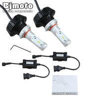 HL K6 9006 New K6 Car LED Headlight Accessories HB4 9006 Bulb Auto Front Fog Drl