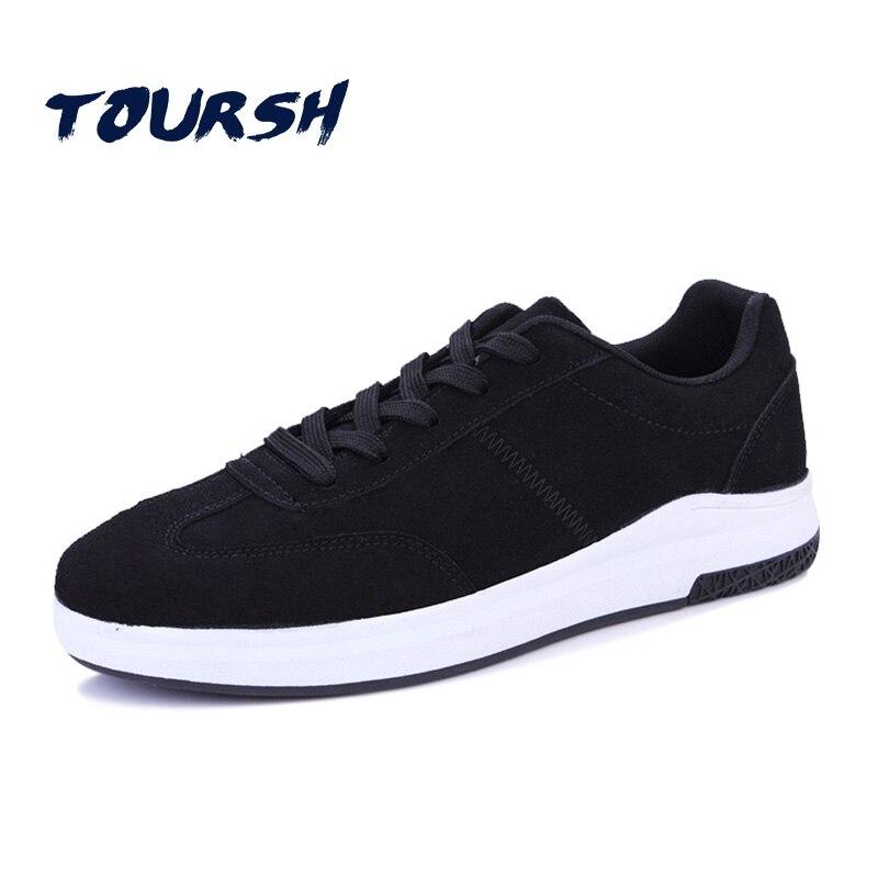 Prix pour TOURSH 2017 Vente Chaude Planche À Roulettes Chaussures Sneakers Hommes Chaussures Low Top Classiques En Plein Air Respirant Marche Cool chaussures Eur 39-44