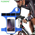 Esportes em execução caso para iphone 6 6 s 4.7 floveme para iphone 6 6 S Plus 5.5 Caso Do Toque de Fitness Gym Ciclismo Arm Thumb Bater Sacos