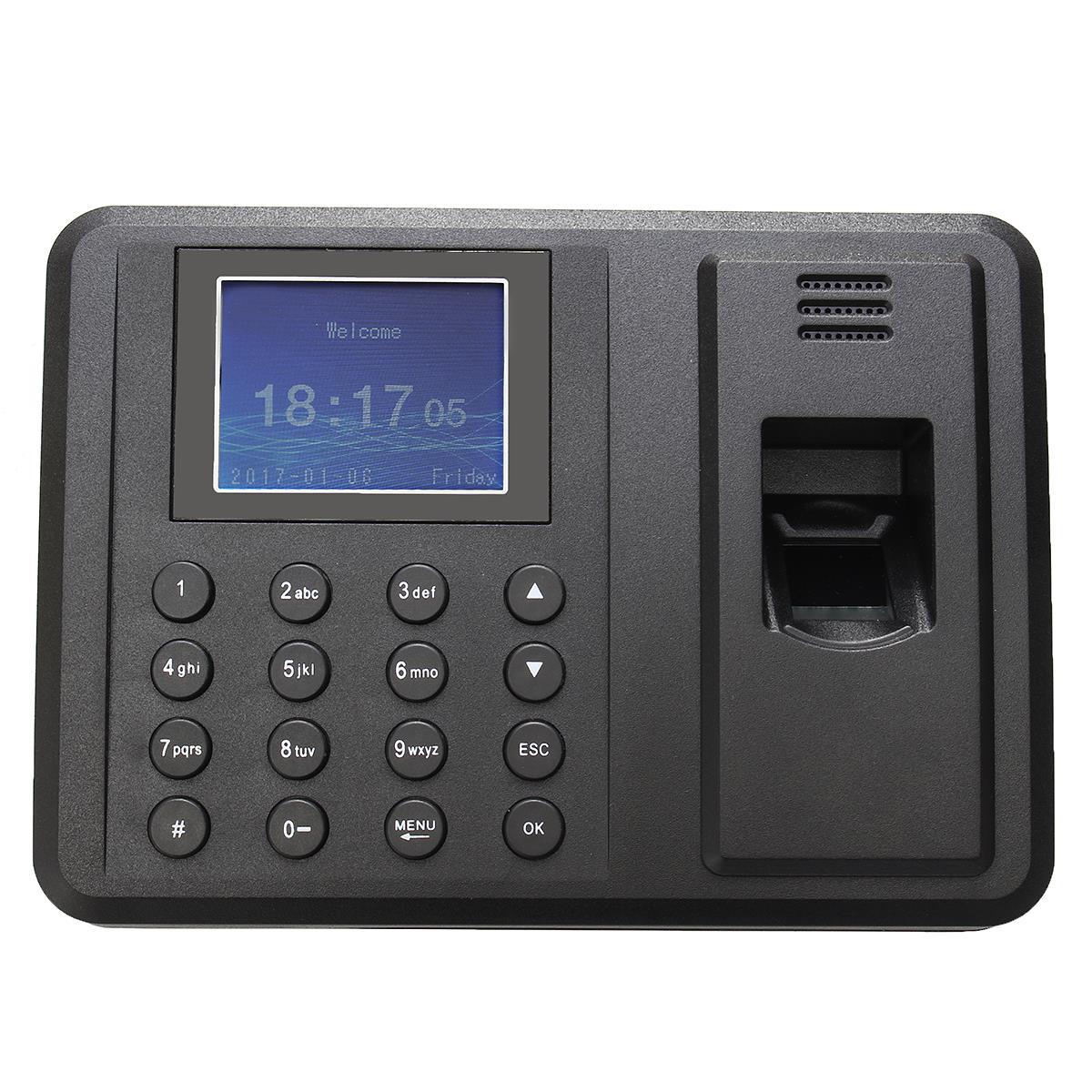 220 V DC 5 V/1A USB mot de passe empreinte digitale présence employé enregistreur de temps horloge enregistreur