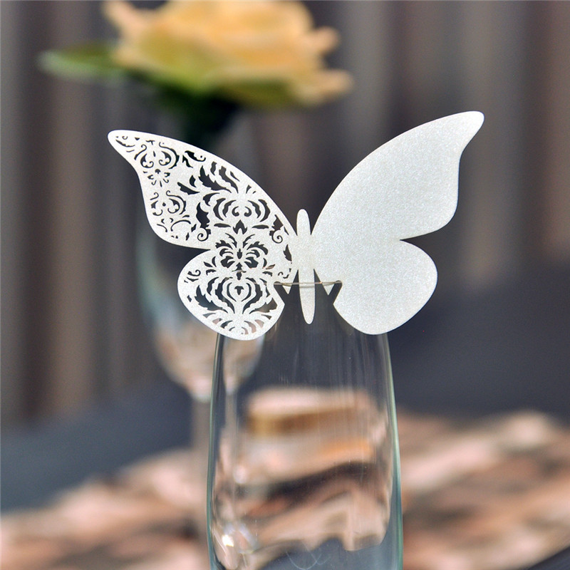 Laser Cut Erfly Place Cards Midway Media