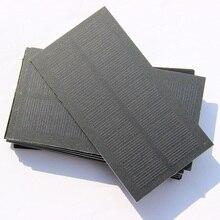 BUHESHUI Wholesale 5.5V 0.8W Solar Cell Mini PET Monocry Silicon Solar Panel Charge 3.6V Battery Education kits118*63MM 300pcs