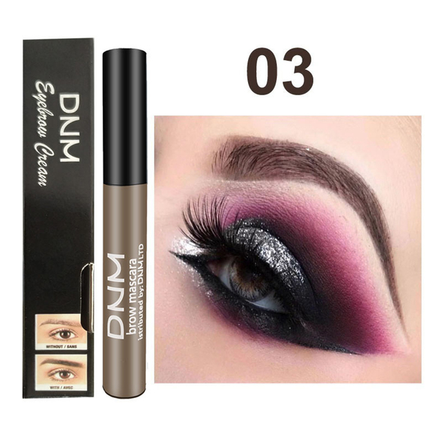 1PC Waterproof Makeup Eye Brow Gel Coffee Black Brown Color Eyebrows Gel Paint Eyebrow Tint Mascaras Kit Eye Brow Beauty Tools 4