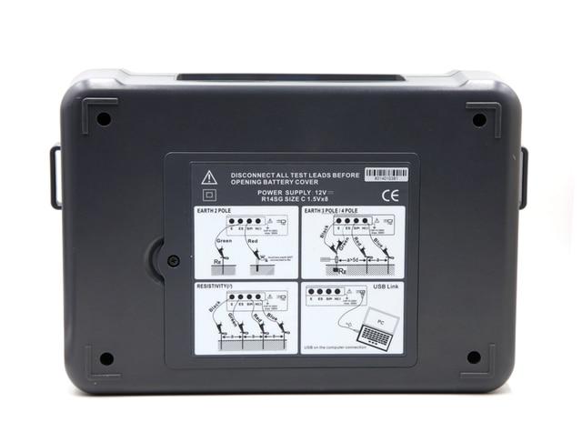 Testeur Intelligent de résistance et de résistance du sol, à 4 fils, LCD, haute précision