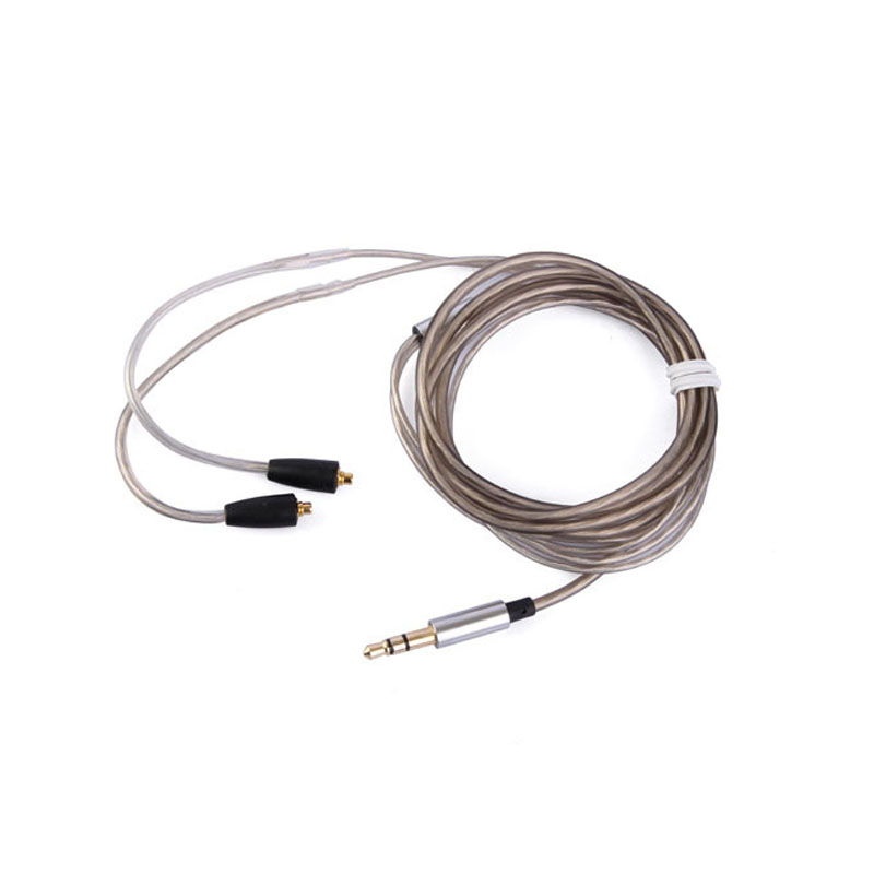 Earmax Upgrading Earphone Headset Headphone Silver Plated Cable Replace Wire for Shure SE215 SE315 SE425 SE535 SE846 UE900