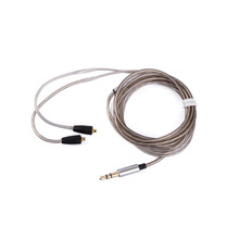 Earmax actualización auricular plateado del Cable reemplazar alambre para Shure SE215 SE315 SE425 SE535 SE846 UE900