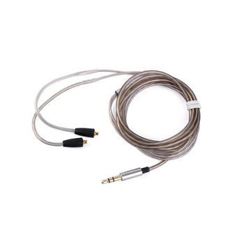 1 pcs New Upgrading Earphone Headset Headphone Silver Plated Cable Replace Wire for Shure SE215 SE315 SE425 SE535 SE846 UE900