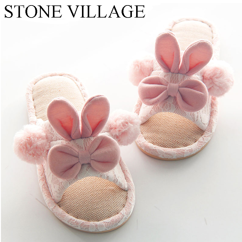 Lovely Slippe Autumn And Winter Cute Cotton Women Slippers Plus Warm Home Slippers Non-Slip Indoor Shoes Bowtie Cute Women Shoes цена и фото