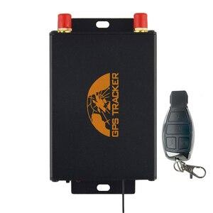 Image 4 - Tracker GPS pour voiture GPS105B, localisateur TK105B, télécommande, fente double SIM, caméra/carburant, coupure de carburant 100% cobalt en option