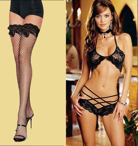 70de8bc6345 Womens Dance Lace Sexy Lingerie Outfit Bra+String 004-in Bras from ...