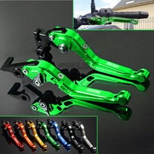 For Kawasaki ZG1000 ZG 1000 CONCOURS Aluminum Motorbike Motorcycle Brake Clutch Levers Foldable Extendable Adjustable цены