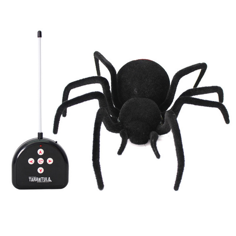 Novelty Creative multi functional high simulation control cross spider Remote control spider Electric toy Animal model