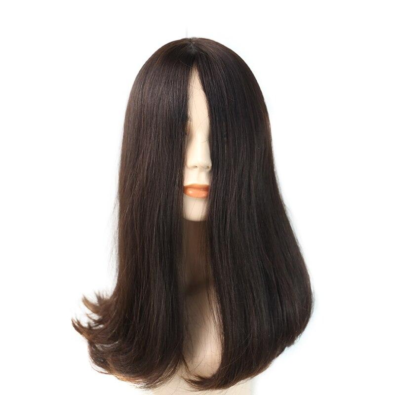 Prosa Jewish Wig #4 Natural Straight Hair Kosher Sheitel Wig 100% Virgin European Hair Long Hair Wig For Woman