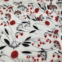 Tissus Au Metre Fabric Tecidos Free Shipping Paris Bead Dress, Broad legged Pants, Thin And Messy Linen , Foam Yarn Fabrics
