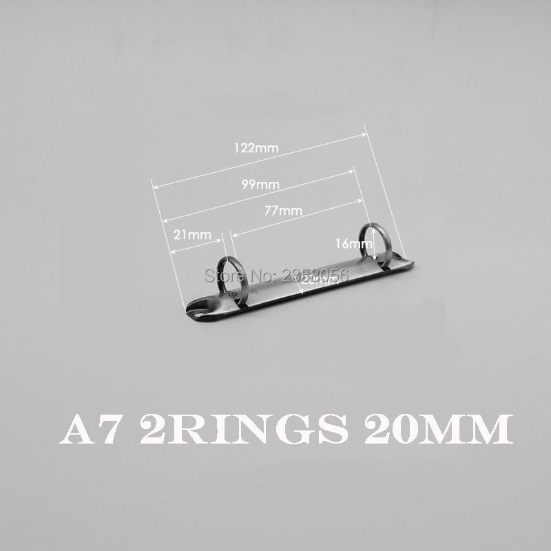 A4, A5, A6 ,A7, B5 Metal Spiral Binder Clip, 6, 4, 2, 9