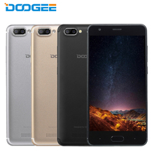 Original DOOGEE X20 Cell Phone 5.0 inch HD Screen RAM 2GB ROM 16GB MT6580 Quad Core Android 7.0 Dual Camera 2580mAh Smartphone
