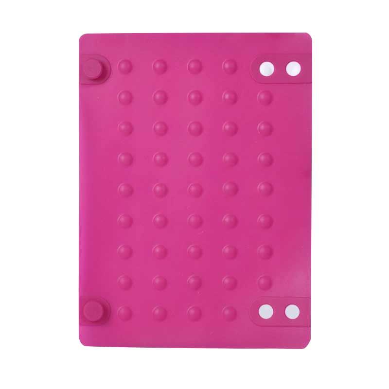 1Piece Silicone Heat Resistant Mat Шаш Тегістегіш - Шаш күтімі және сәндеу - фото 5