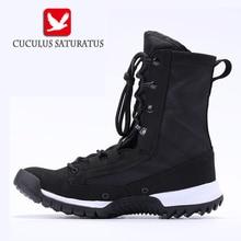 Cuculus 2017 высокое качество человек пустыни сапоги женские туфли на плоской подошве; Большие размеры 31–47 каблук Мужская обувь осень-зима Ботильоны Повседневное британский стиль ZD144L