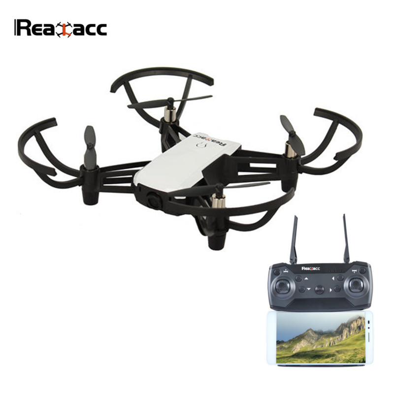 New Arrival Realacc R20 WiFi FPV With 2MP 720P Wide Angle Camera Altitude Hold RC Drone Quadcopter RTF Mode 2 VS Eachine E58 dm dm106 wifi fpv with 2mp 0 3mp camera altitude hold rc drone quadcopter rtf mode 2 with transmitter phone control with led toy