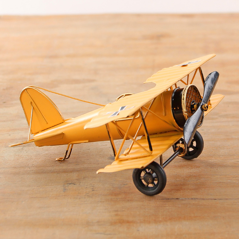 German World War I Vintage Airplane Models Iron Metal Aircraft ...