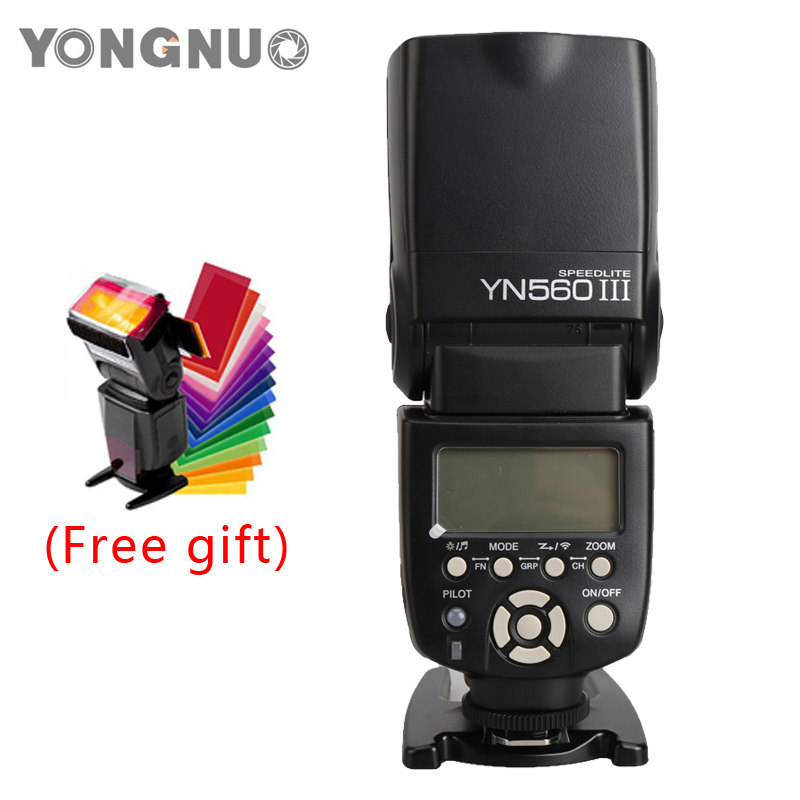 YongNuo YN560-III YN560 III GN 58 Flash light Speedlite Speedlight for Canon Nikon Pentax Olympus DSLR Camera YN560III 2017 new meike mk 930 ii flash speedlight speedlite for canon 6d eos 5d 5d2 5d mark iii ii as yongnuo yn 560 yn560 ii yn560ii