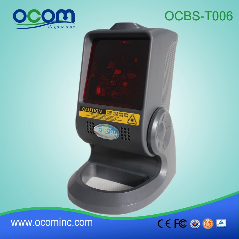 Desktop Omni-directional Laser Bar code Scanner (Model No.: OCBS-T006) verifone vx610 omni 5600