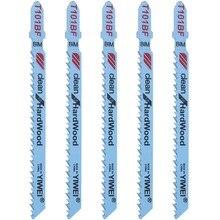 ANENG 5 шт. T101BF биметаллические Т образные Лобзики лезвия режущий инструмент чистый для твердой древесины