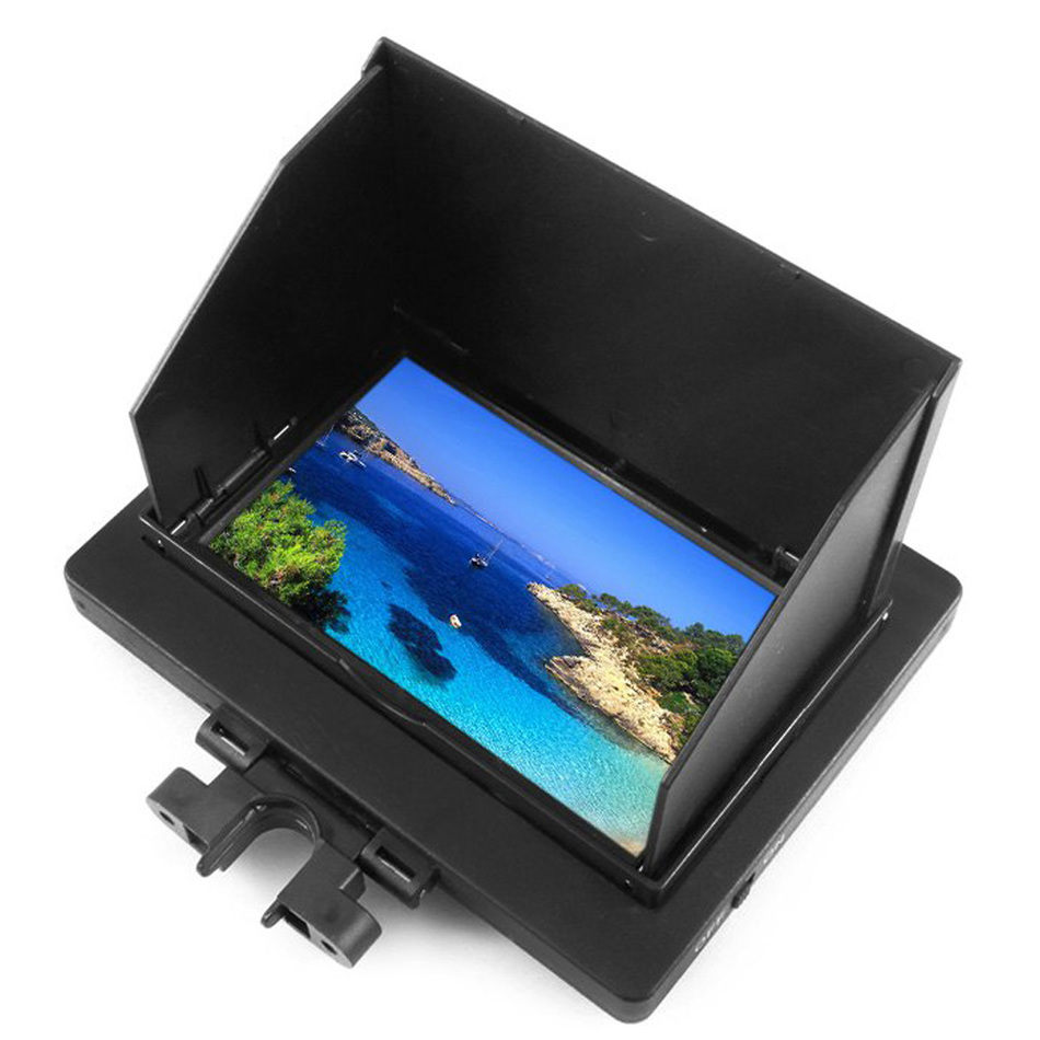 Brand New 5.8G 8CH FPV Monitor 4.3 Inch Wide Viewing Angle Monitor Accessory for JJRC H16, YiZhan Tarantula X6 RC Quadcopter