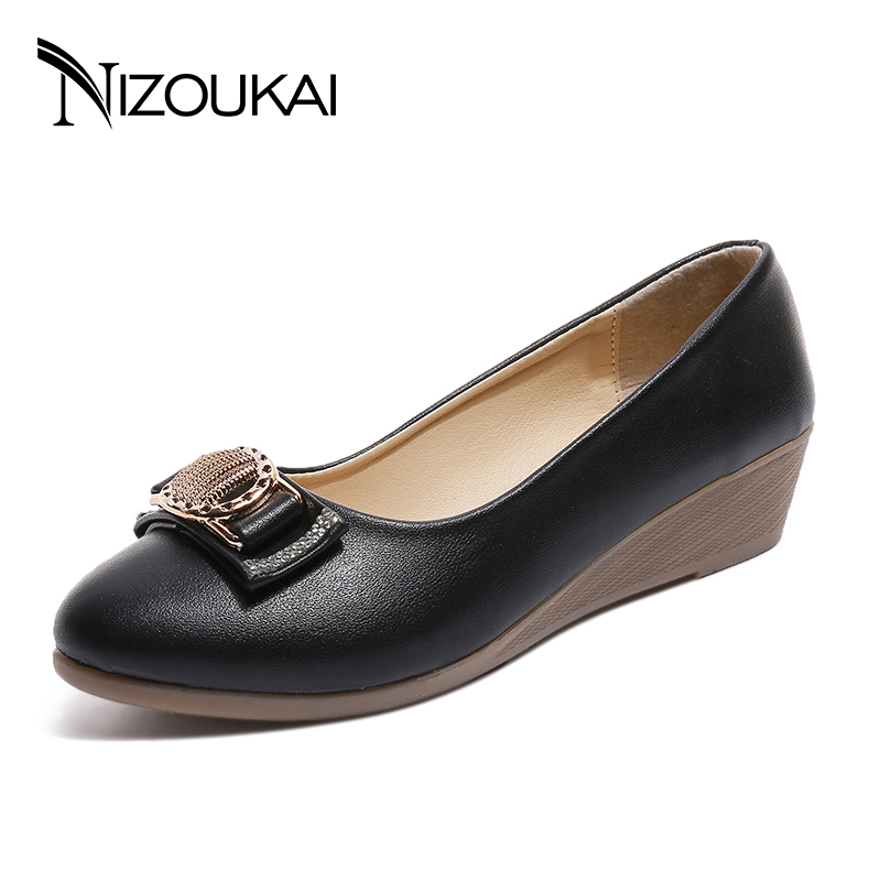 Women Shoes Casual Shoes Ballet Soft Pu Leather Loafers Slip On Woman Flats Shoes Women Flexible Peas Footwear Large Size zoqi shoes woman candy colors genuine leather women casual shoes 2018fashion breathable slip on peas massage flat shoes size 44