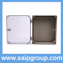 Factory Supply Large Clear Plastic PVC Box/Waterproof Box 400*300*160mm SP-AT-403016