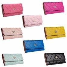 HEIßE Neue Kommende Mode Dame Womens Lange Prüfung Clutch Crown Pu-leder Brieftasche Kartenhalter Handtasche