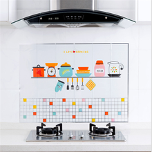 BXLYY Kitchen Oil Stickers 1pc Self-adhesive High Temperature Household Stove Home Decoration Accessories.8z