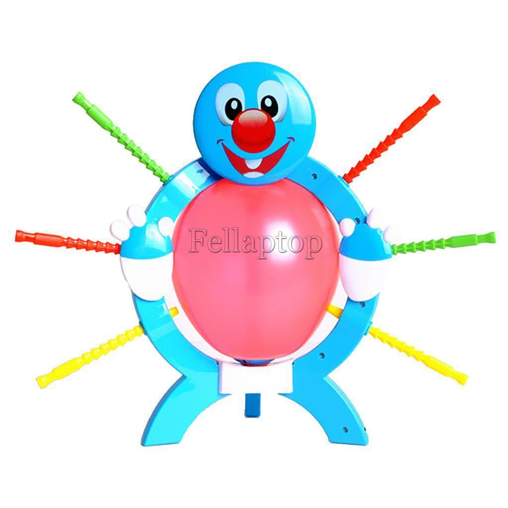 Blue Booming Balloon Game Family Fun Strategy Kids Educational Board Games ...