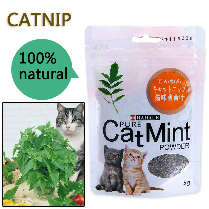 Menthol Flavor Cat Treats Digestive Pet Supplies Promotional Premium Catnip Hot Sale Cat Mint Natural Pet Food Organic Funny Toy