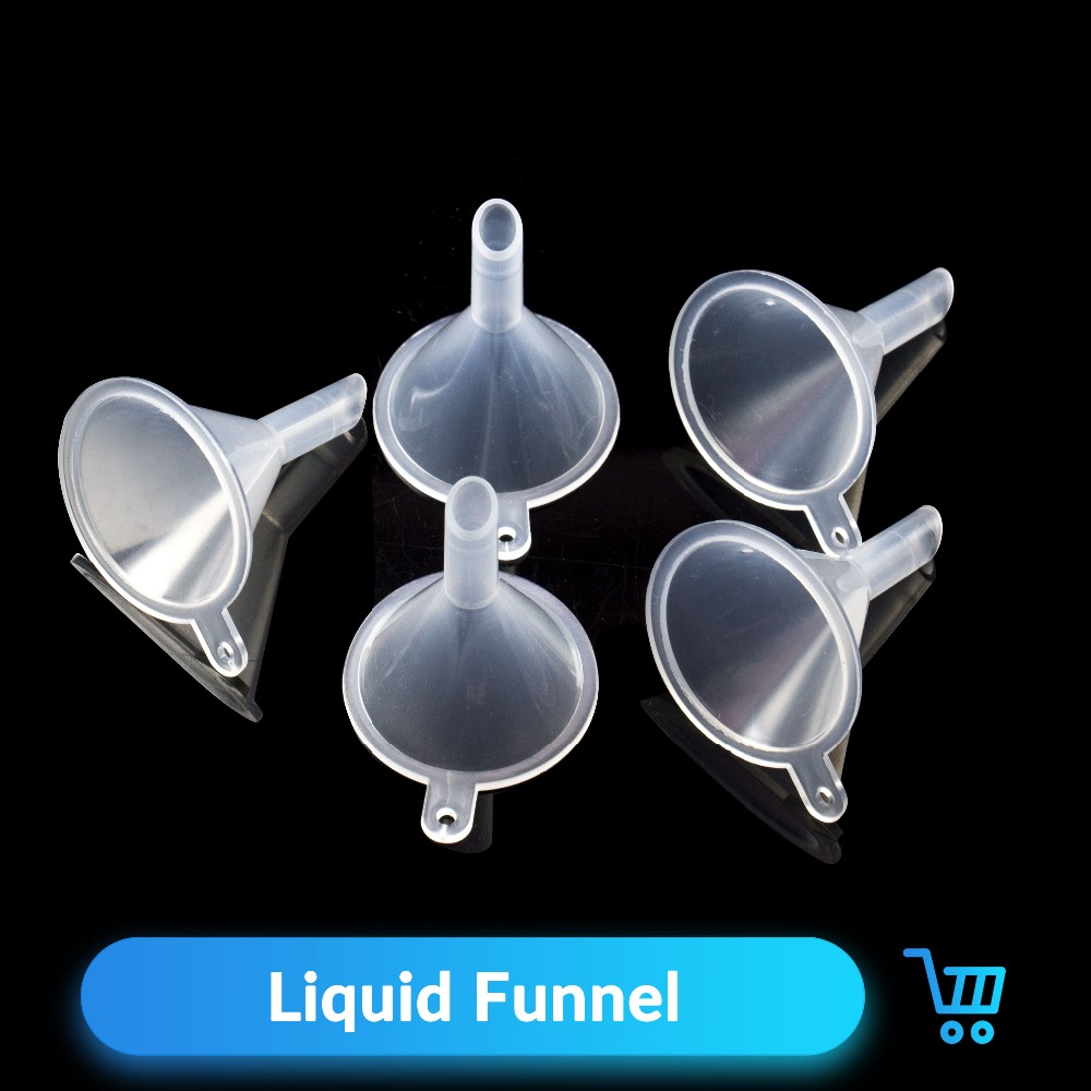 Quartz Banger 5pcs/ Little Plastic Funnels Liquid Diffuser Bottle Mini Oil Funnels For Vape DIY Tools E Cigarette Liquid Bottle