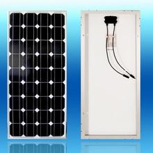 panel solar 100w 12v placas solares fotovoltaicas monocrystalline 18v battery charger 12v solar panels motorhomes solar power