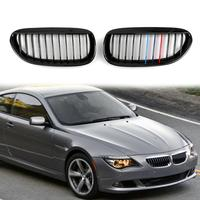 Areyourshop Shiny Black Front Grille for BMW E63 E64 LCI M6 Convertible coupe 630 635 Front Grille Car Styling Accessories