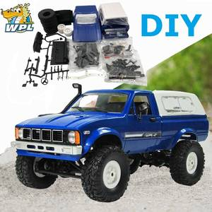 WPL Kids Toys Rc-Car-Kit Remote-Control-Car Rc Crawler Buggy Moving-Machine 4WD Promotion
